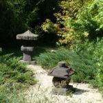 Parc de la Belle - lanternes japonaises et érables